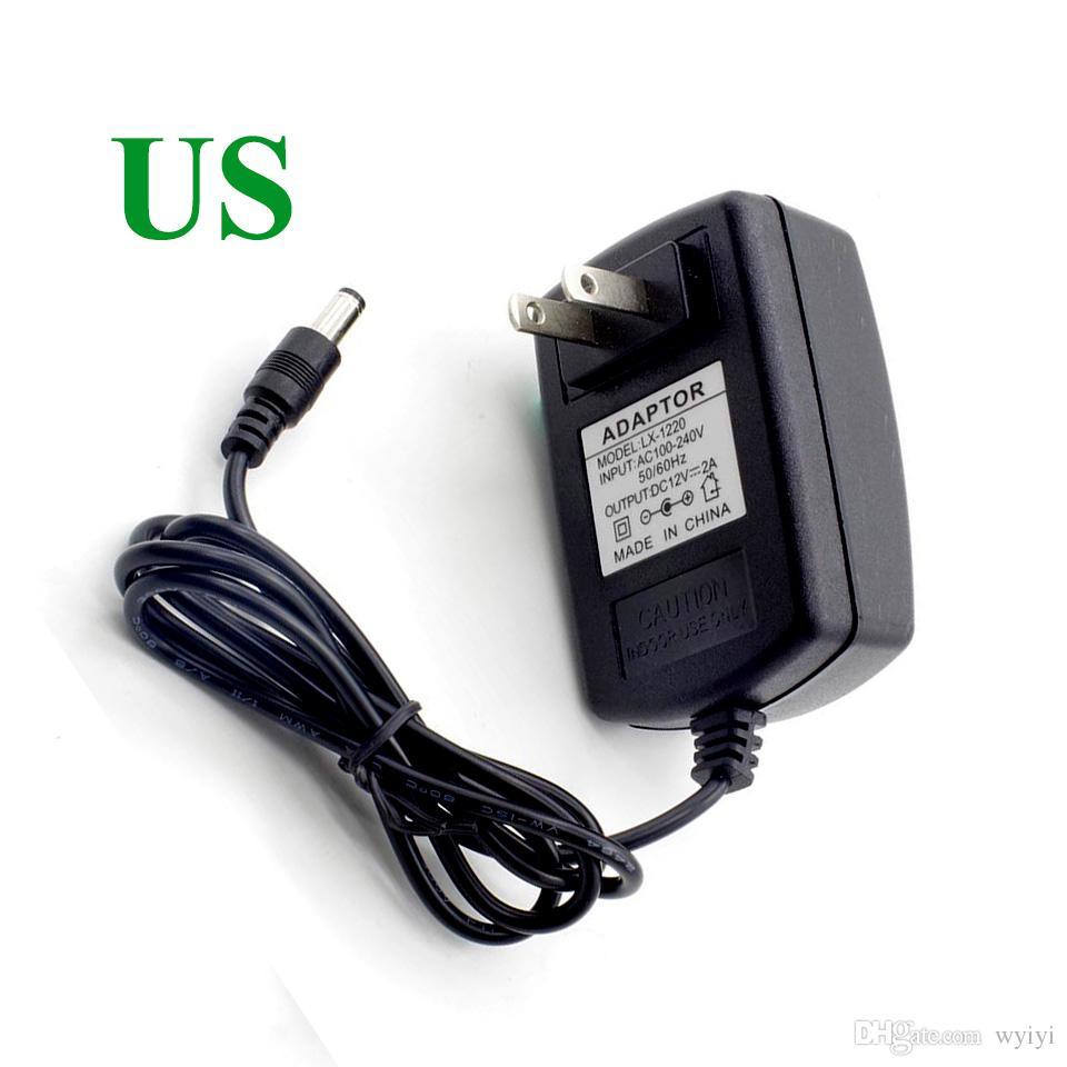 12V 2A 스위칭 전원 공급 장치 LED 램프 전원 공급 장치 전원 공급 장치 12V 2A 라우터 5.5 * 2.1mm EU 미국