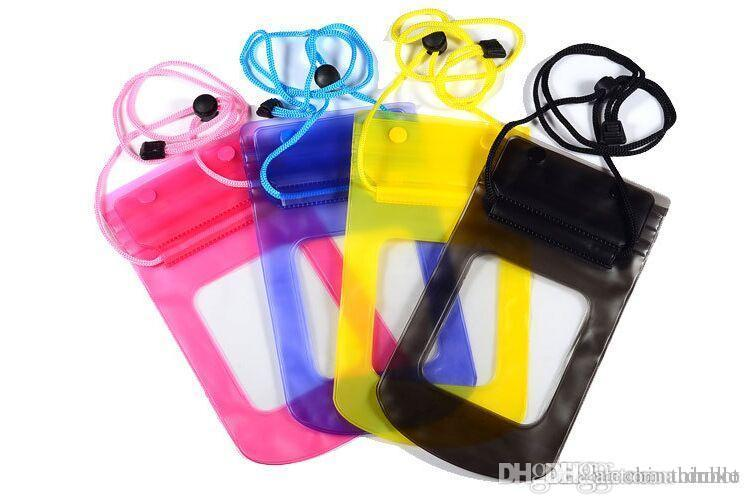 Universal Waterproof Pouch phone Water Proof Bags Underwater Dry Case Cover For iPhone6 plus 4 5 Samsung S4 S5 Note 3 HTC Lg camera Free DHL