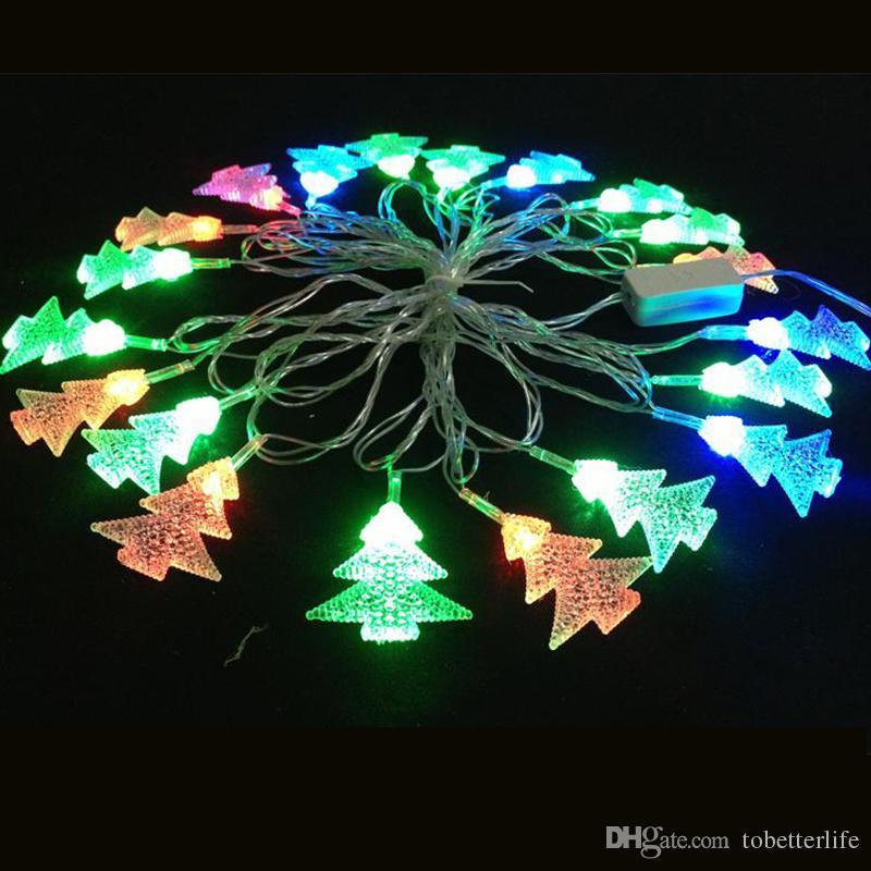 110 فولت 220 فولت rgb led سلسلة ضوء الديكور مصباح ثلج شجرة عيد الميلاد الغزلان بيل سانتا كلوز الصمام سلاسل ل عطلة الديكور 4 متر 20 المصابيح 3 واط