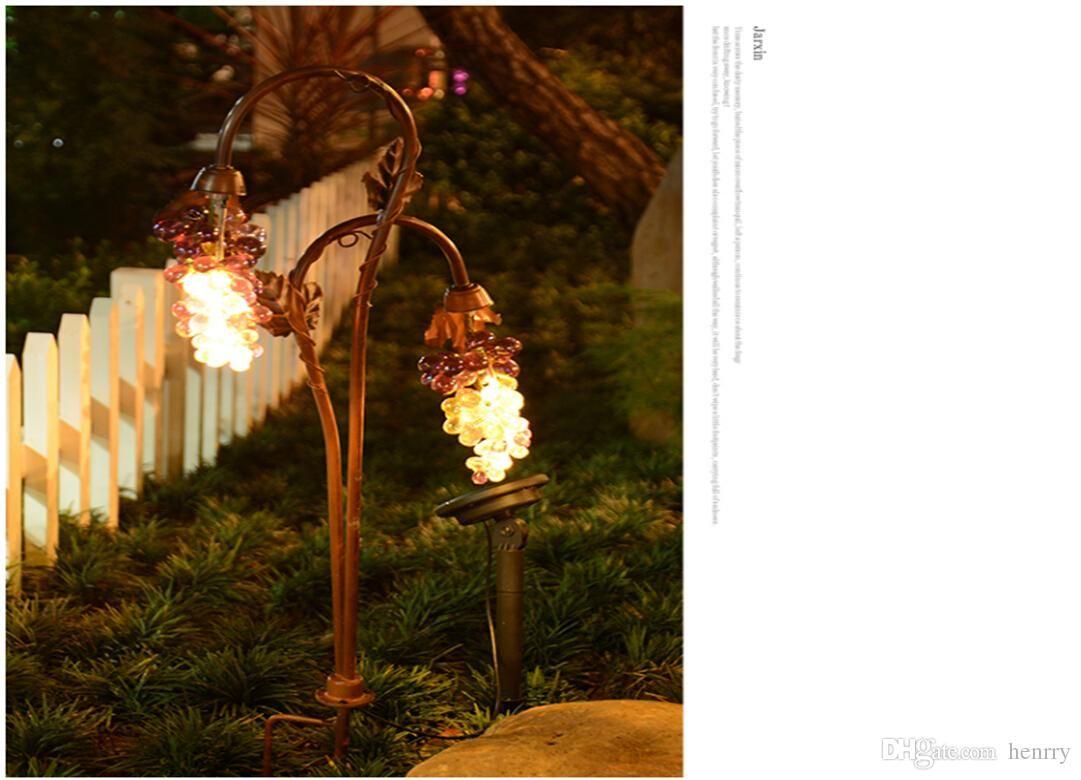 Оптовая торговля европейским ретро наружных солнечных огней лузовой лампы. Садовые огни. Пейзажная вилла воды. Наружные огни сад свет
