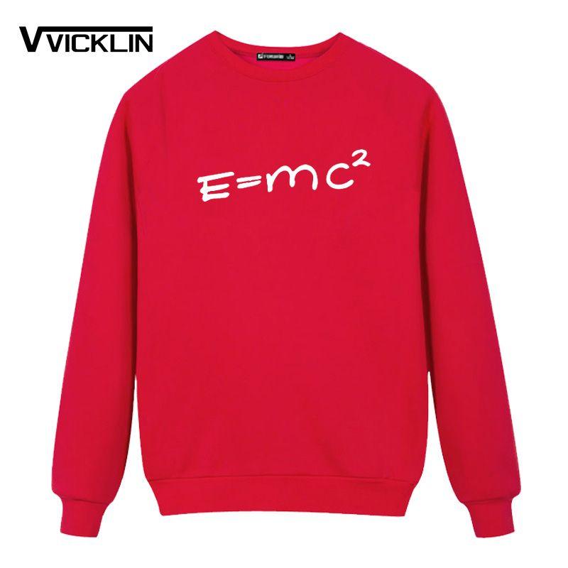 2019 Einstein Mass Energy Formula Fleece Hoodies Sweatshirt Men Loose Class  Service Customized Service Team Plus Size From Toto6, $24 21 | DHgate Com