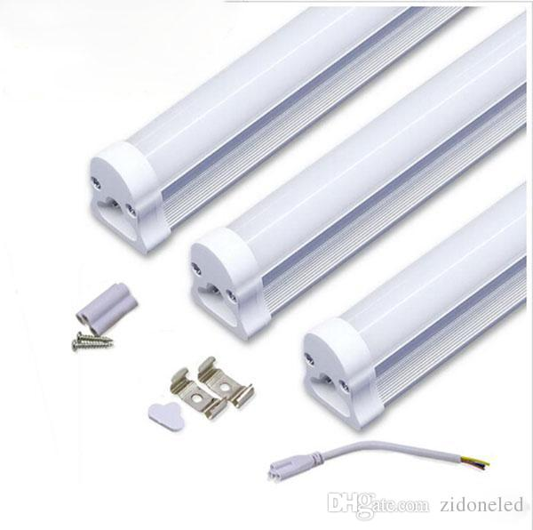 T5 LED Tube Replacement 0.3m 5W/0.6m 9W/0.9m 14W/1.2m 18W 2835 AC85-265V LED Tube Constant Current