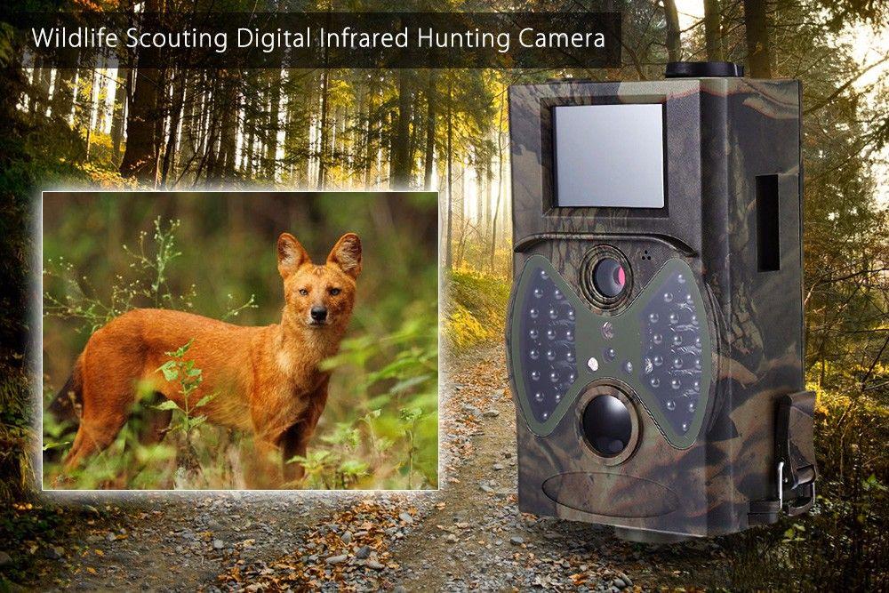 사냥 카메라 HC - 300A 12MP 야생 생물 스카우팅 디지털 적외선 트레일 사냥 카메라 고화질 TB