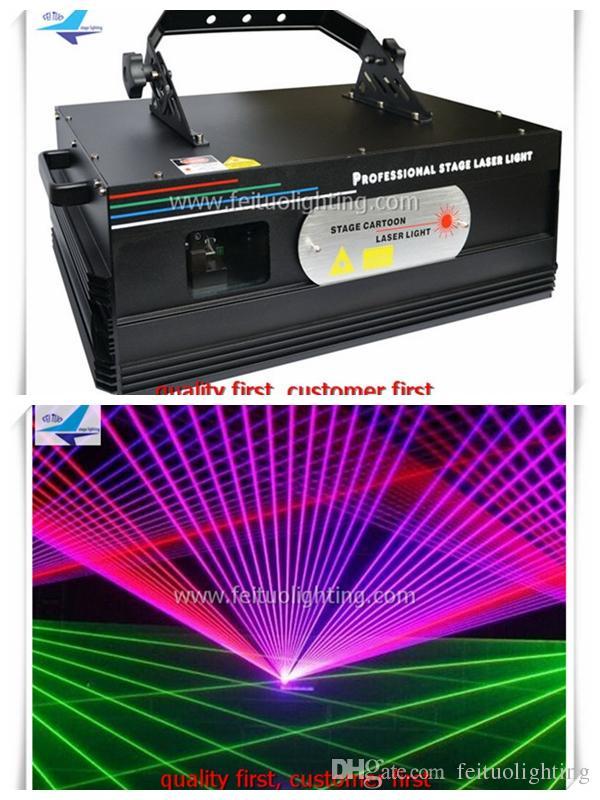 3W animazione rgb luce laser multi colore per Club DJ Disco da illuminazione feituo