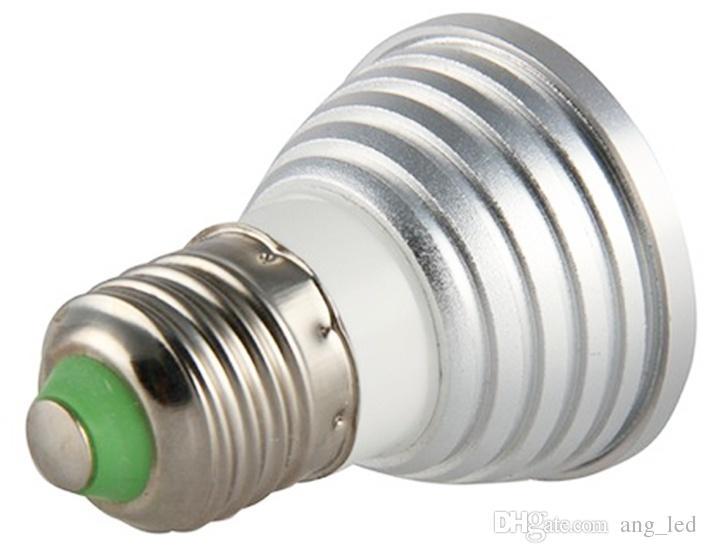 Faretti Led E27.Acquista Faretti Led 3w Dimmerabili E27 Lampadine E Modifica Led Rgb Luce Spot Con Telecomando A 24 Tasti A 9 05 Dal Ang Led Dhgate Com