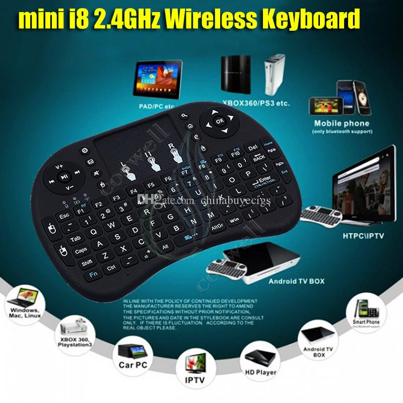 Foldable with Mouse Touch Gaming Keyboard Remote Wireless Bluetooth Keyboard Office Keyboard Portable Gaming Keyboard