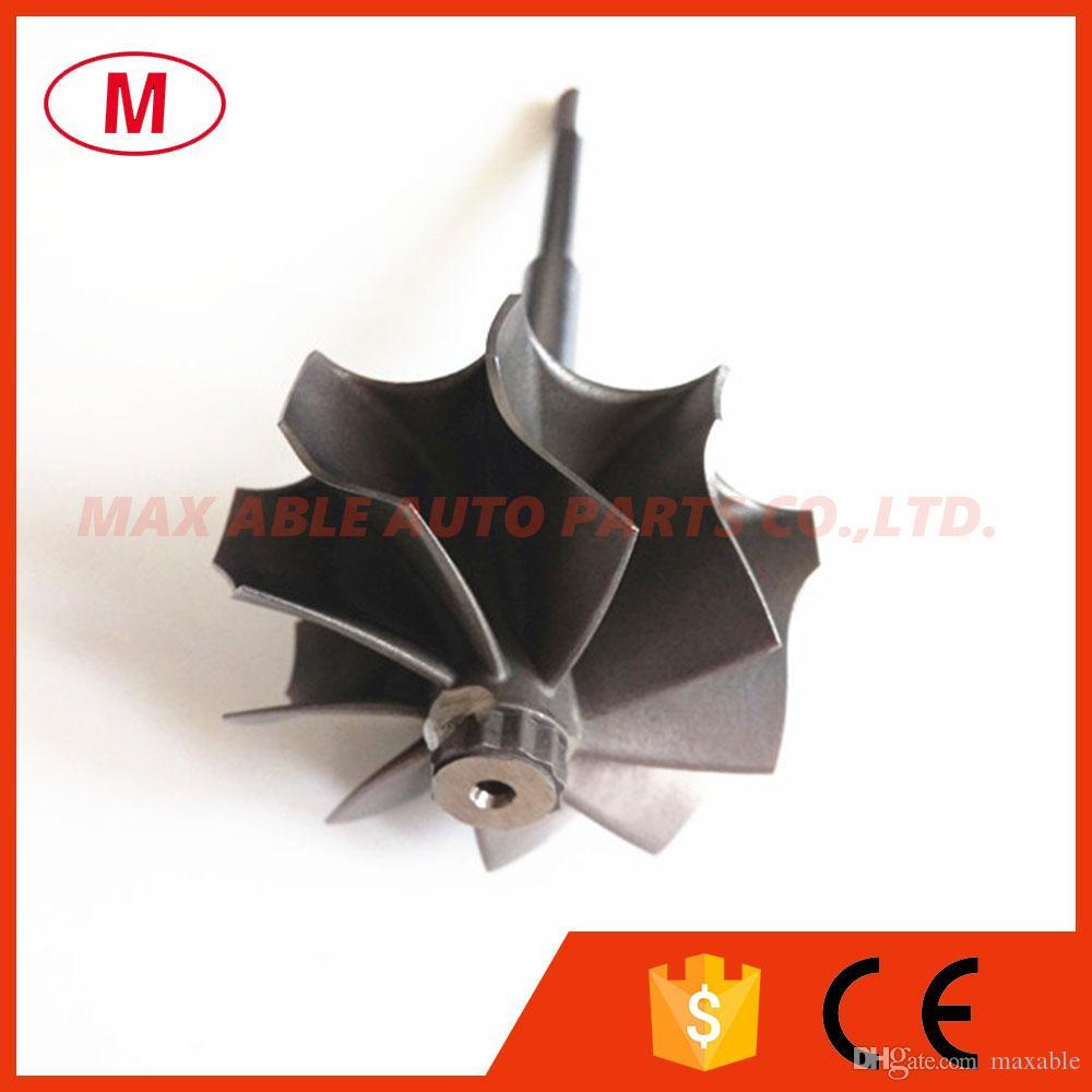 TD04HL 45.65X52mm 9 cuchillas turbo rueda / turbina eje rueda
