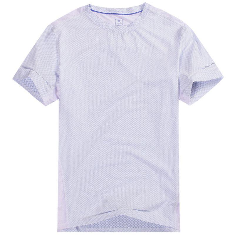 Großhandels-freies Verschiffenmännert-shirts coolmax Gewebe schnell trocknender im Freiensport, der kampiert und kampiert, T-Shirt, das atmen und wicking 6026 ist