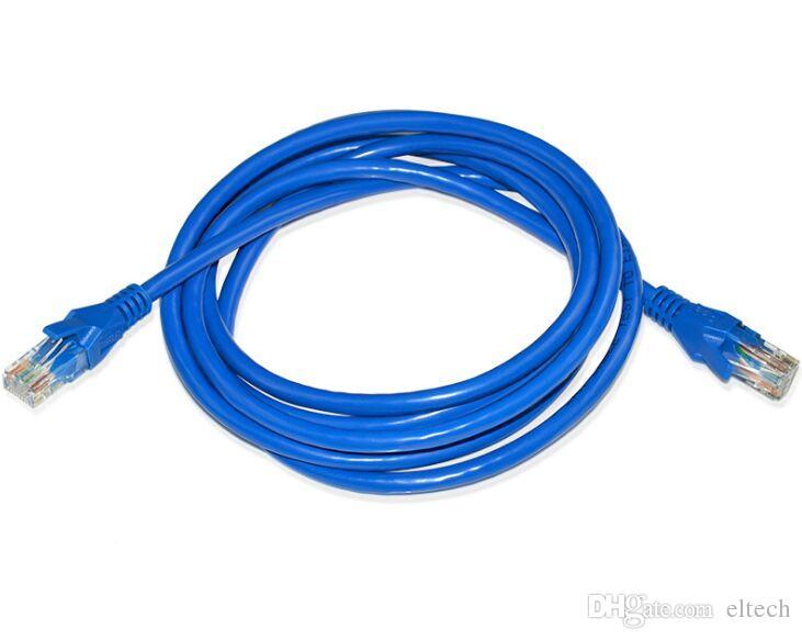 كابل إيثرنت CAT6 LAN Cable CAT 6 RJ45 250MHz شبكة 1000Mbps في الشبكة إيثرنت باتش لاجهزة الكمبيوتر