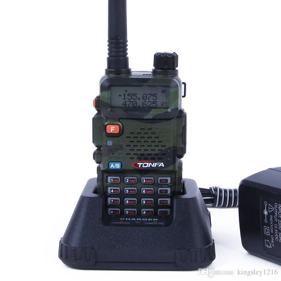 Walkie Talkie TONFA UV-985 8W 128CH UV-985 dual band VHF136-174MHz & UHF400-470MHz two way radio UV985 Free Shipping