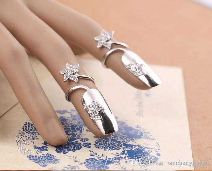 Fashion Thumb Nail Female Japanese And Korean Jewelry Micro Ring ...