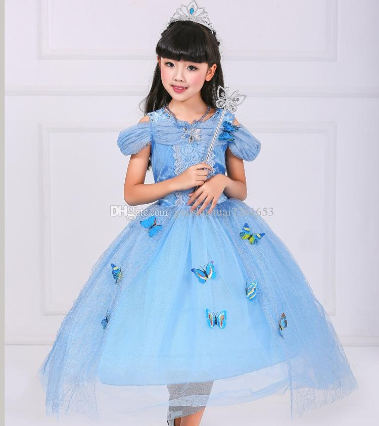 limited edition ice queen ball gown with erfly princess brand new classic cinderella crystal princess toddler child halloween costume