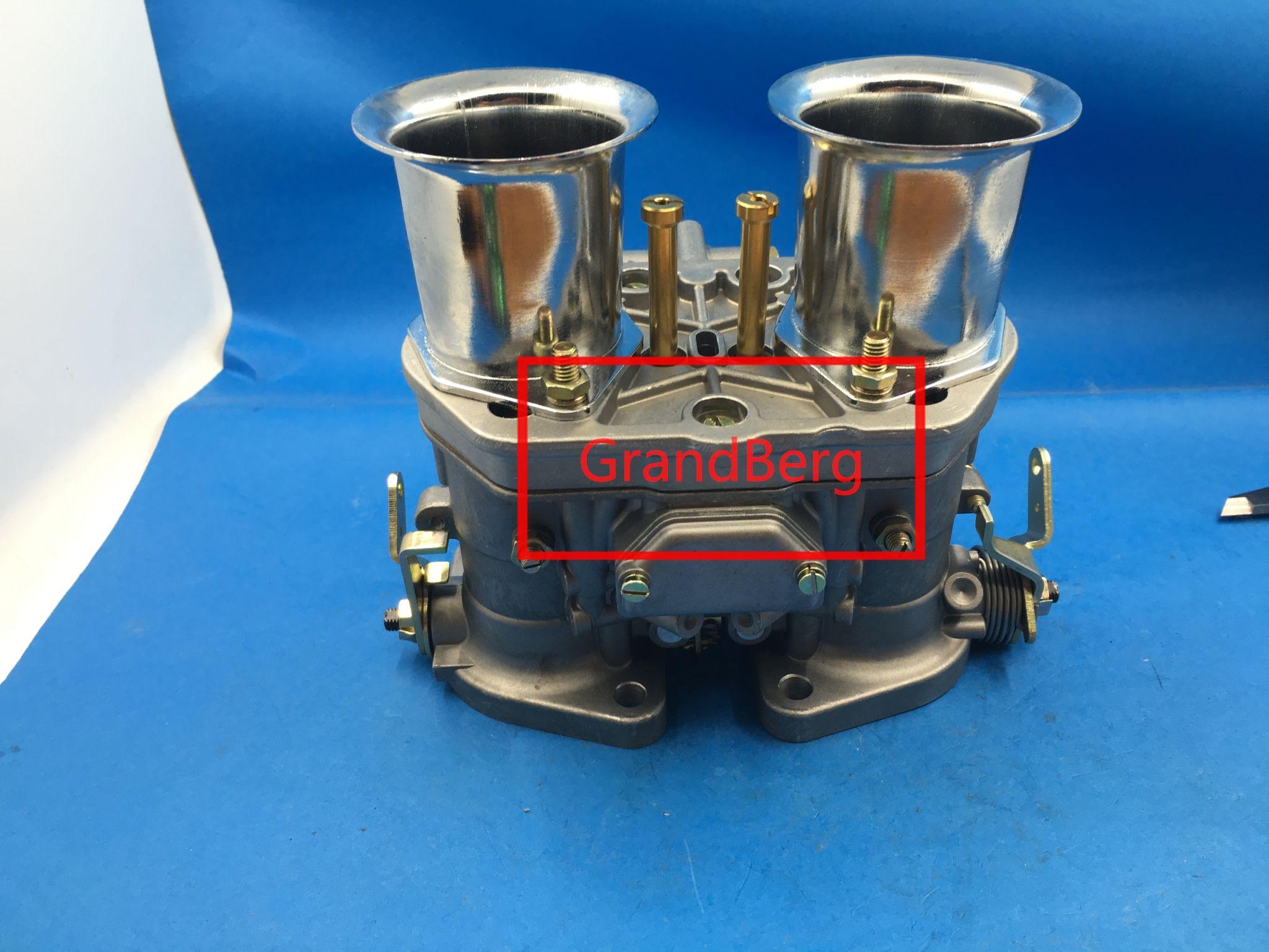 Weber / Dellorto Модель 40IDF Carburetor с воздушным рогом для BUG / Beetle / VW / Fiat / Porsche Reprece Weber Carb