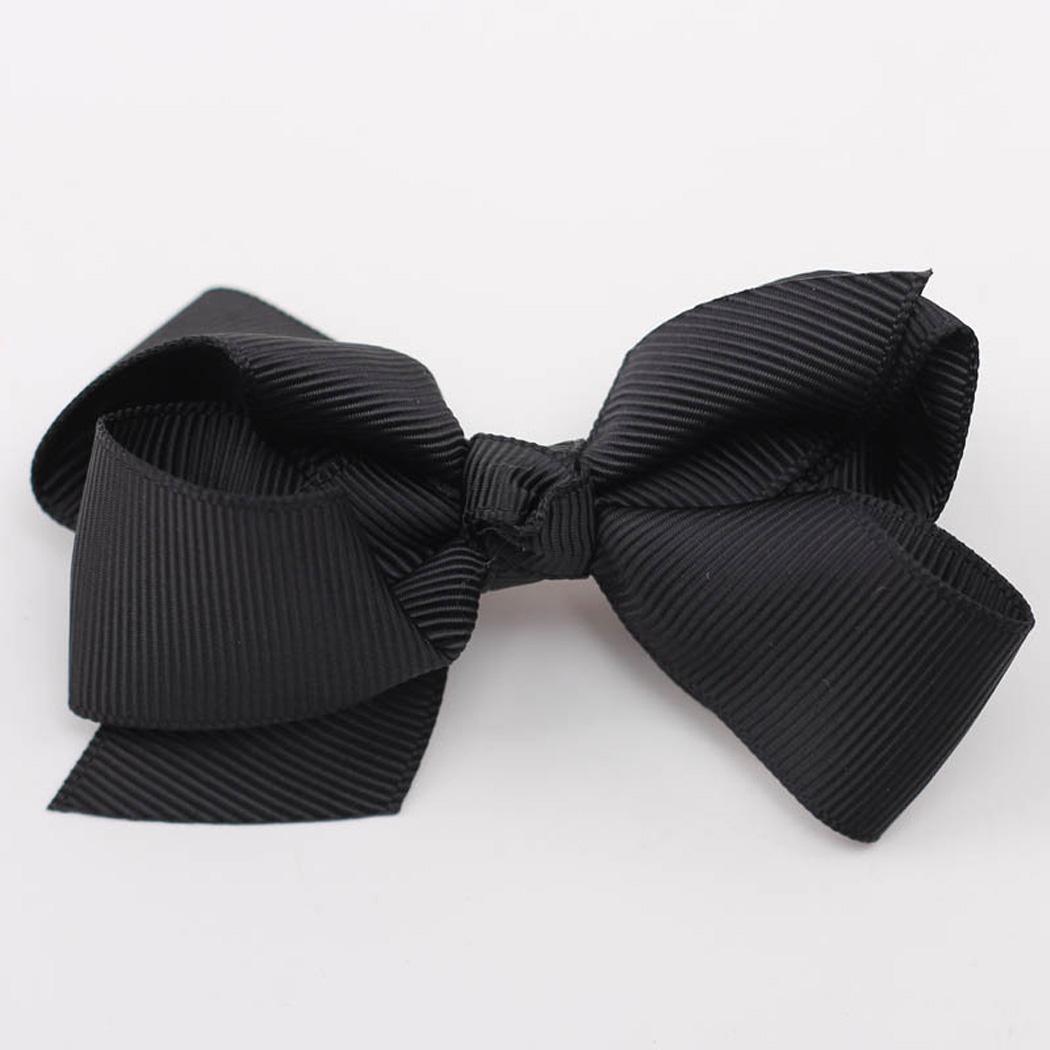 Black bow hair accessories - We Can Always See Little Girls Looking Like Little Princess Some Cute Baby Girl Hair Accessories Are The Secret Regular Pink And Flower Hair Accessories