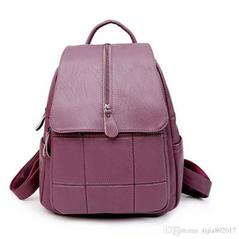 Женские рюкзаки кожаные студенты школьные сумки подростки девушки небольшие рюкзаки женщины дорожная сумка Mochila Bolsas J168