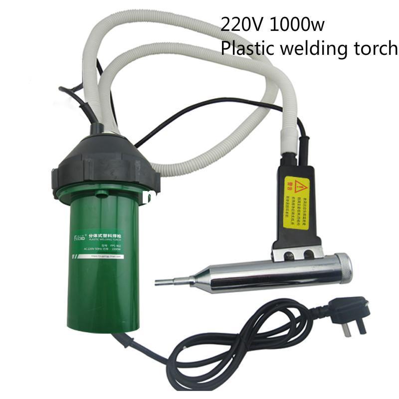 220V 1000W en plastique de soudage torche thermostatique split pistolet à air chaud de qualité industrielle outil de chauffage électrique