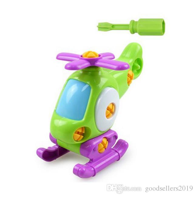 Kids Baby Early Learning Puzzle Educational Toys Airplane Kids
