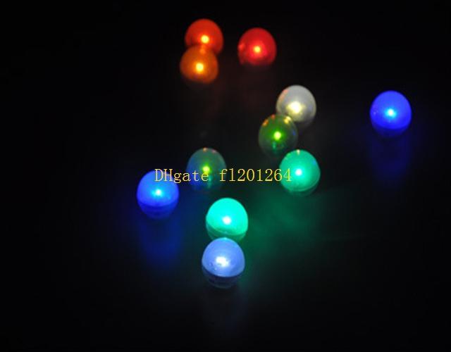 600pcs / lot Livraison Gratuite Fée LED Perles De Mariage Décoration 2CM Mini Coloré Petit Led Berries Étanche Flottant LED Lumières
