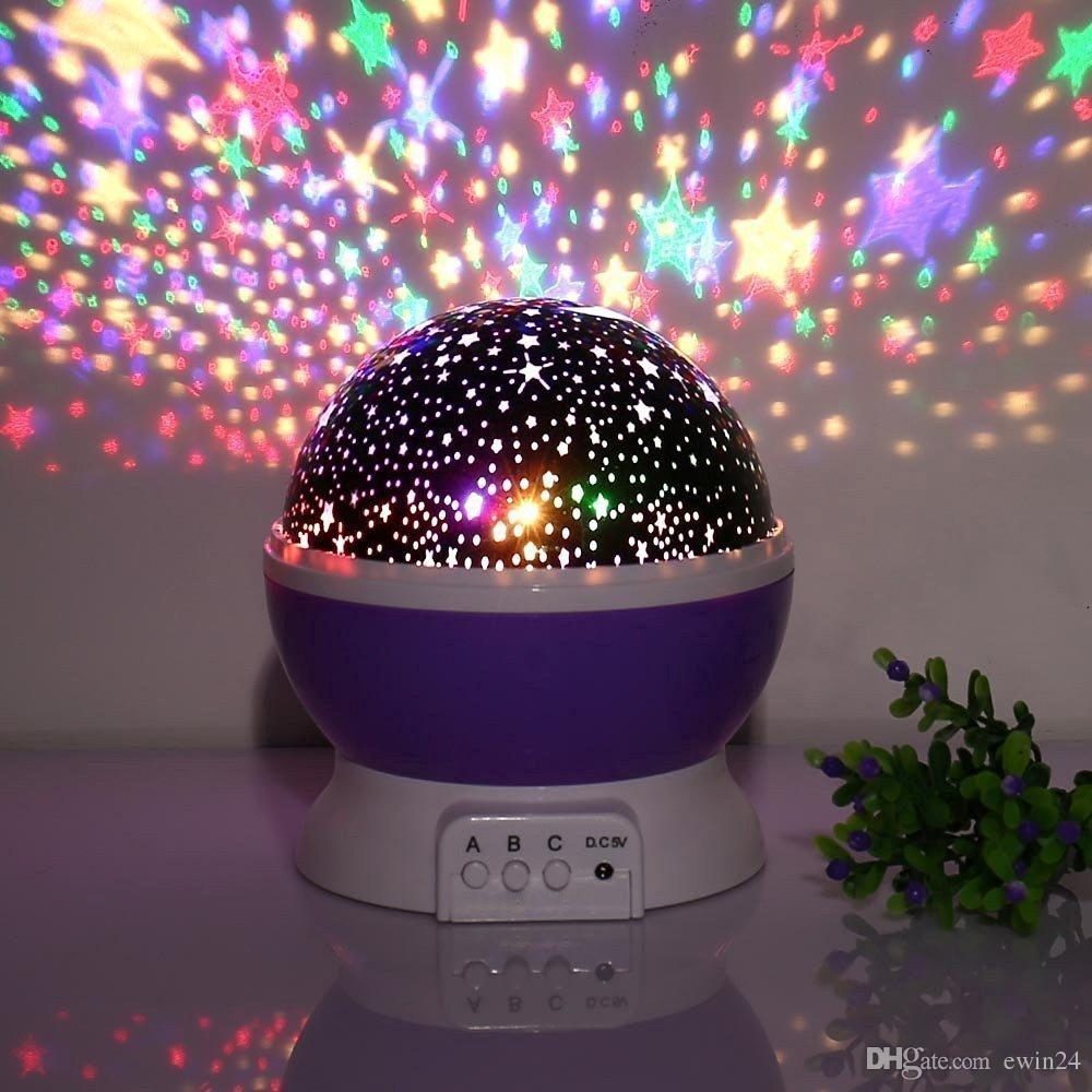 Night light projector lamp - Pictures