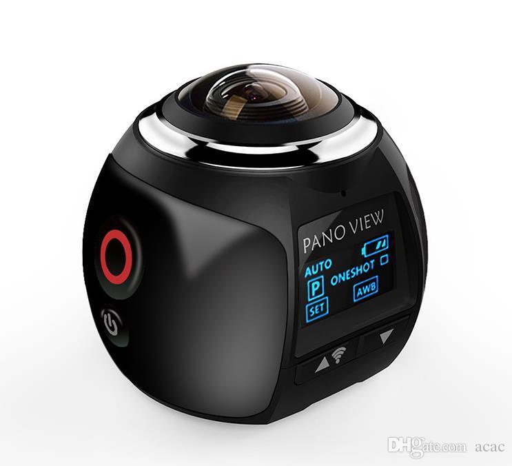 360 Действие камеры Wifi4K Мини Панорамный CameraUltra HD Панорама камеры 360 градусов Sport Driving VR камеры