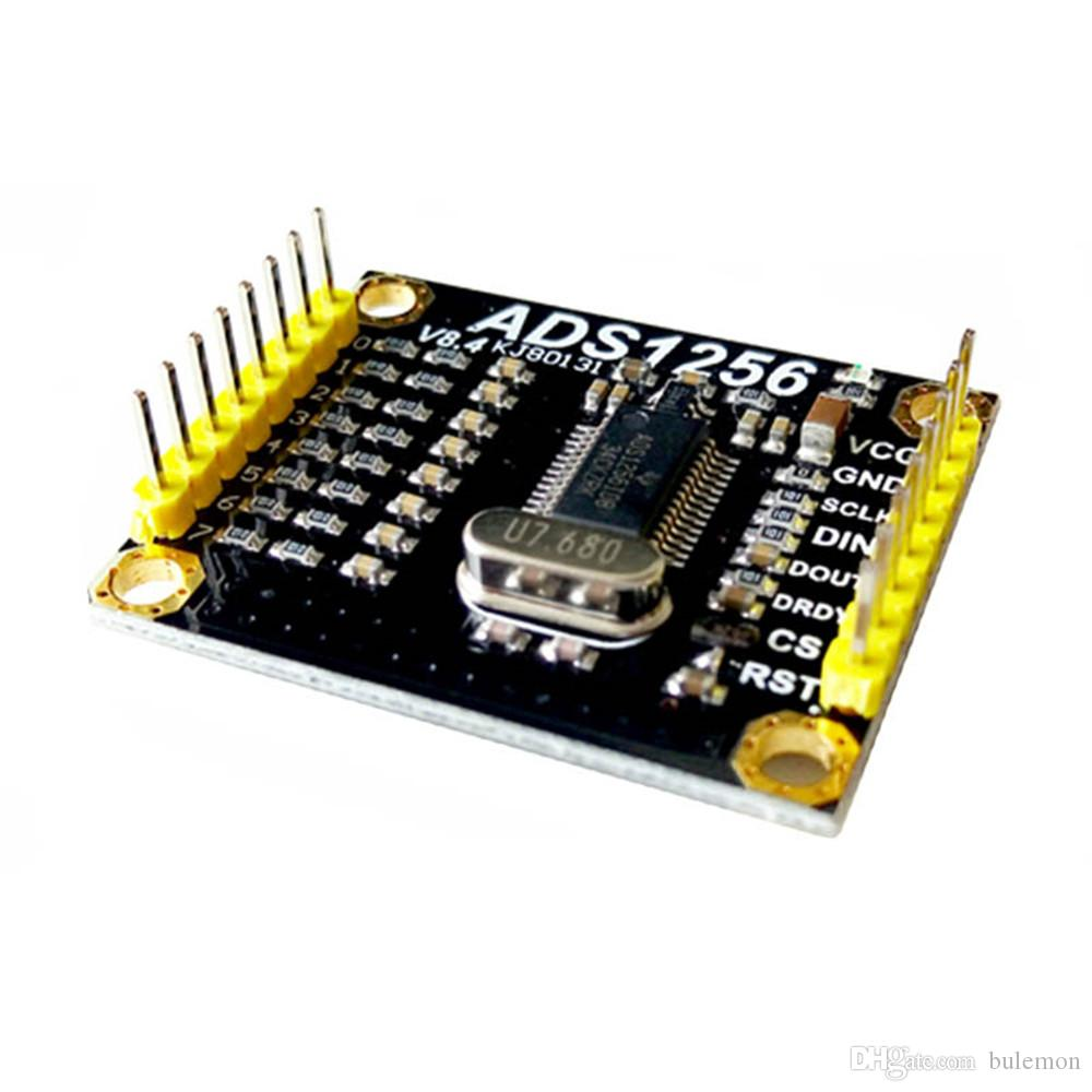 ADS1256 8 Road 24 Bit Data Acquisition AD Module Multi Channel Acquisition System 30Khz for Electronic Design Competition
