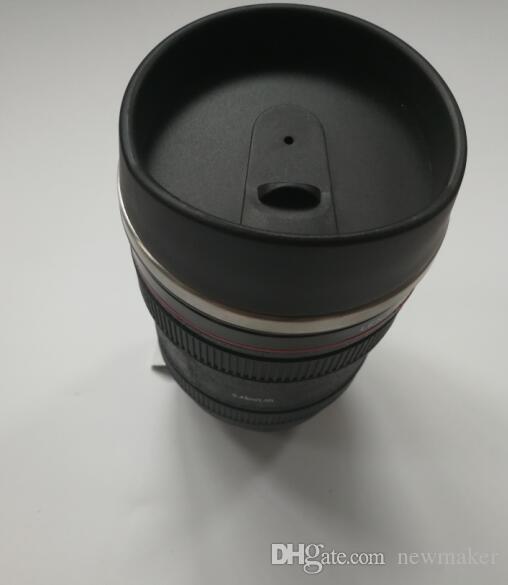 Lente taza de acero inoxidable 24-105 f / 4 0L USM forro generación 5 taza de café sin logotipo 60 piezas