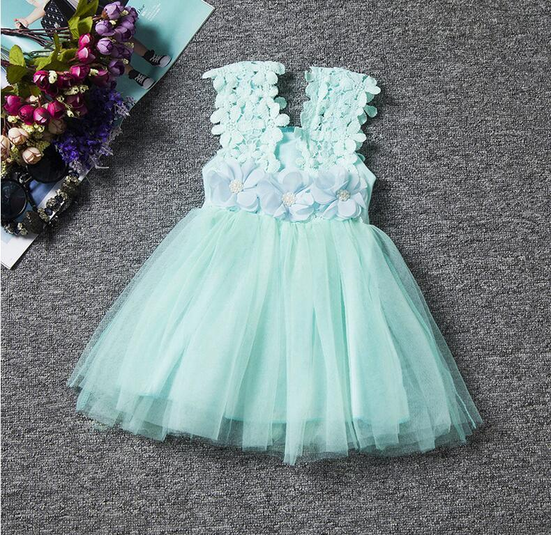 Compre Niñas Elegante Vestido Floral Moda Para Niñas Abrázame Bebé Ropa Para Niñas Vestidos De Tutú De Encaje Niños Prubcess Lentejuelas Vestidos Para