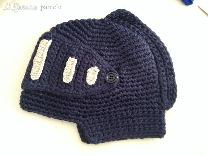 도매 - 남여 겨울 손으로 크로 셰 뜨개질 나이트 모자 비니 이동식 니트 모자