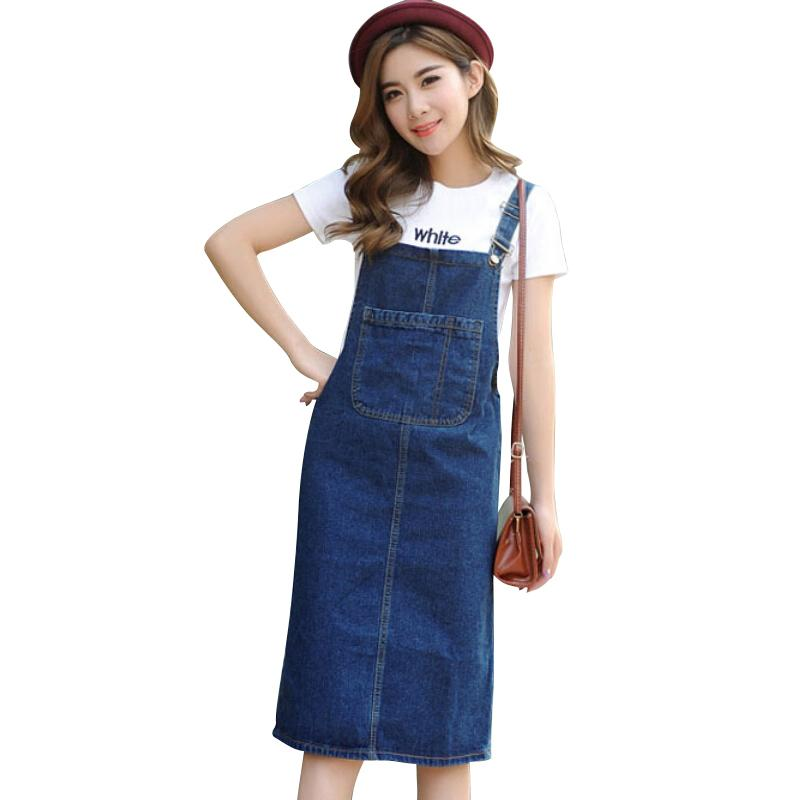 Summer/Spring Dresses Women Denim Casual Dress Sundresses Fashion Style Vestidos Plus Size Blue Dress for Woman S-3XL