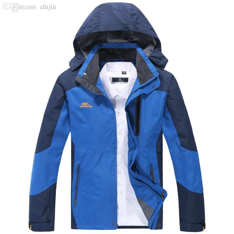 Queda-jaqueta masculina jaqueta esporte ao ar livre, homens jaqueta de inverno, capa à prova de vento parka mens jaquetas e casacos outwear windbreak 8xl