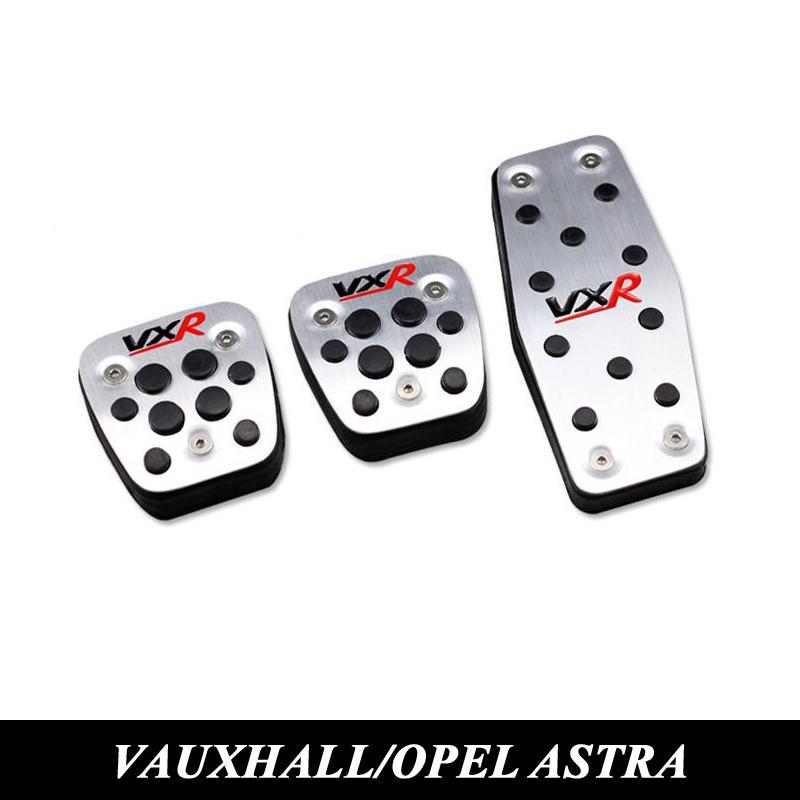 Vauxhall Opel Astra h / j / gtc Mokka Insignia Auto Kupplung Gas Bremspedal aus Aluminium / Stahl Gaspedale Abdeckung Zubehör