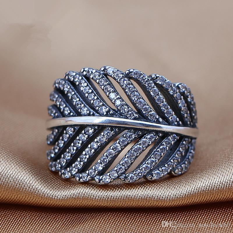 All'ingrosso 2016 nuova Europa S925 Ale anello per il giorno di San Valentino principessa corona sterling nastro ALE anelli