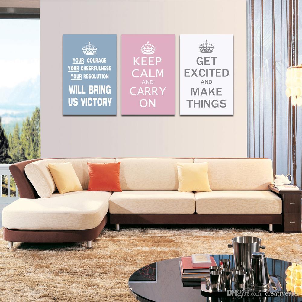 ... Inspirierende Wort Malerei Verschiedene Farbe Karte Home Decor Dropship  Print Leinwand Gemälde Für Wohnzimmer Dekor Wandbehang