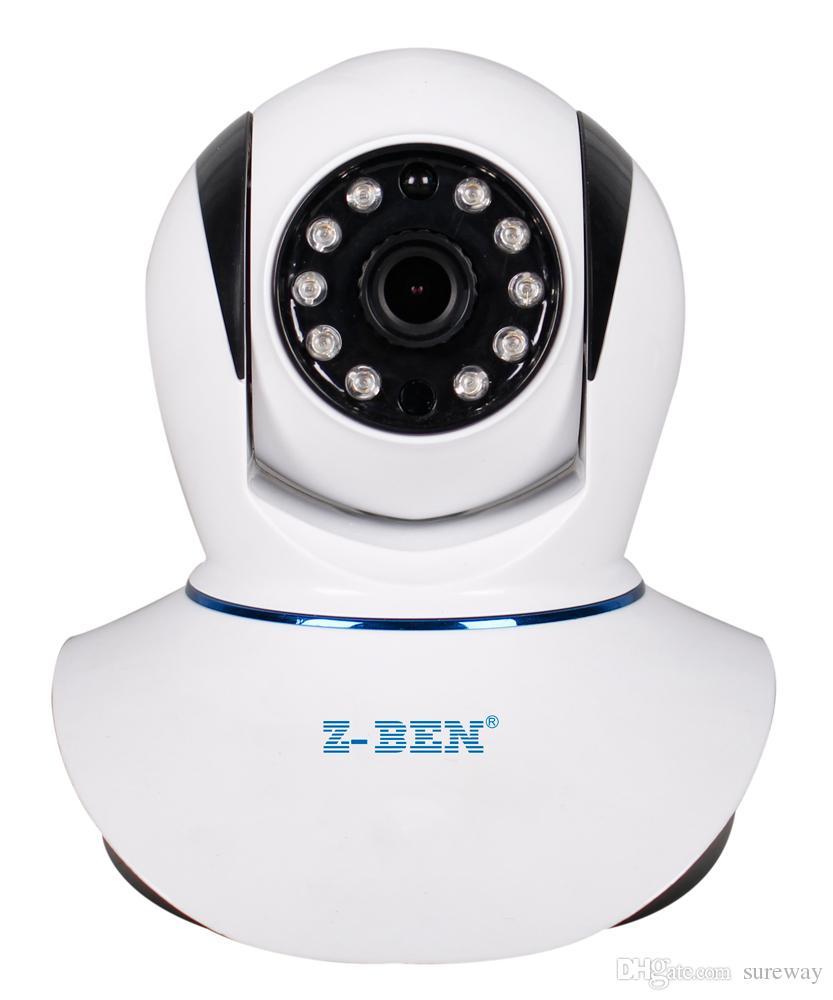 2019 حار خداع Onvif Megapxiel HD كاميرا wirelessP2P P / T IR CCTV قطع الكاميرا اتجاهين الصوت ONVIF داخلي كاميرا IP واي فاي