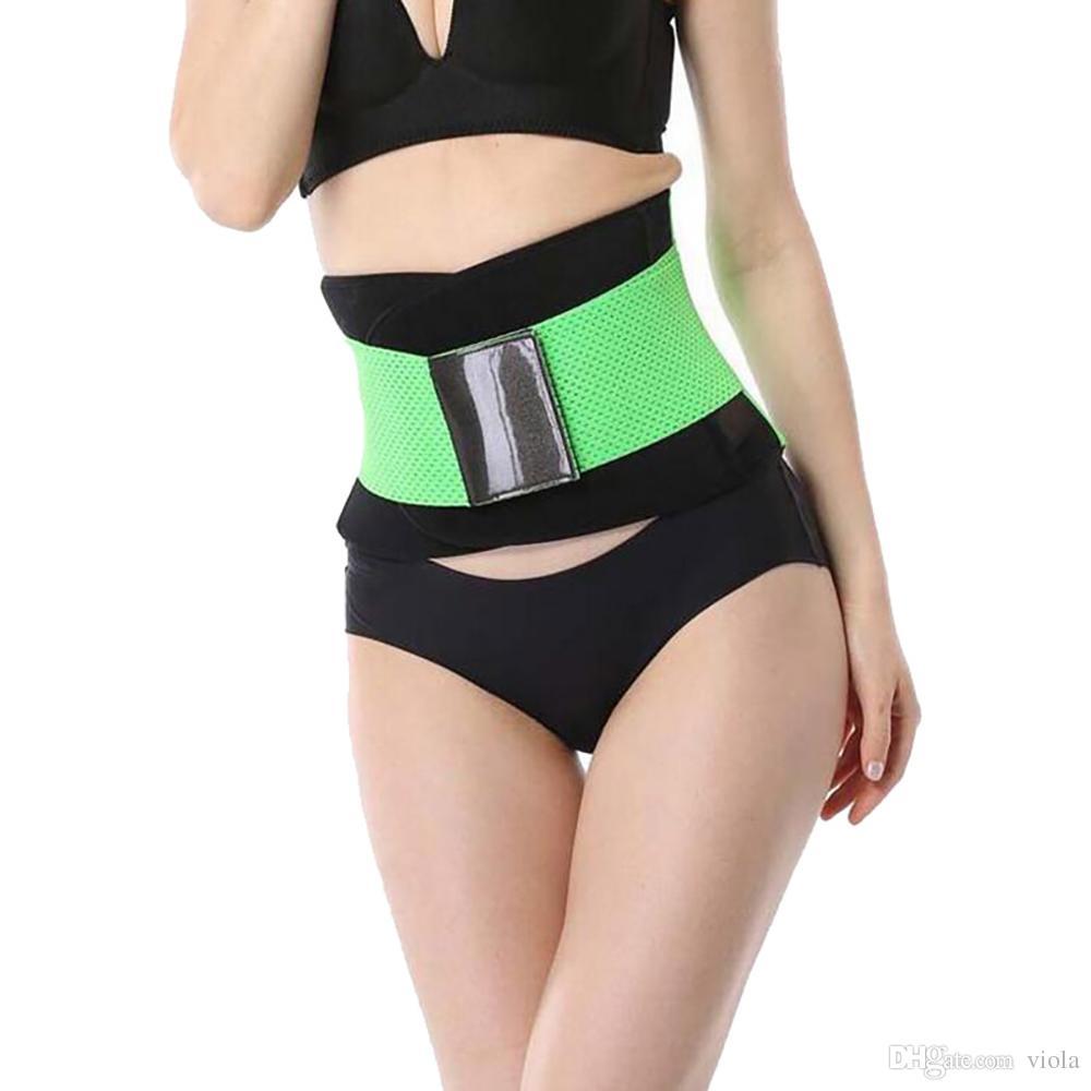Cinturón de la aptitud de las mujeres Cincher Cintura Trimmer Corsé Ventilar Ajustable Tummy Trimmer Trainer Cinturón de pérdida de peso que adelgaza CCA7223 300pcs