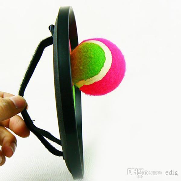 Cool Plastic Throw Catch 2 Bats Ball Outdoor Play Garden Beach Family Game Toy Hot Bat Sport Jumping
