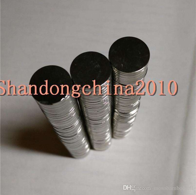 Toptan-Stokta 200 adet Güçlü Yuvarlak NdFeB Mıknatıslar Dia 12x1mm N35 Nadir Toprak Neodimyum Kalıcı Zanaat / DIY Mıknatıs Ücretsiz kargo
