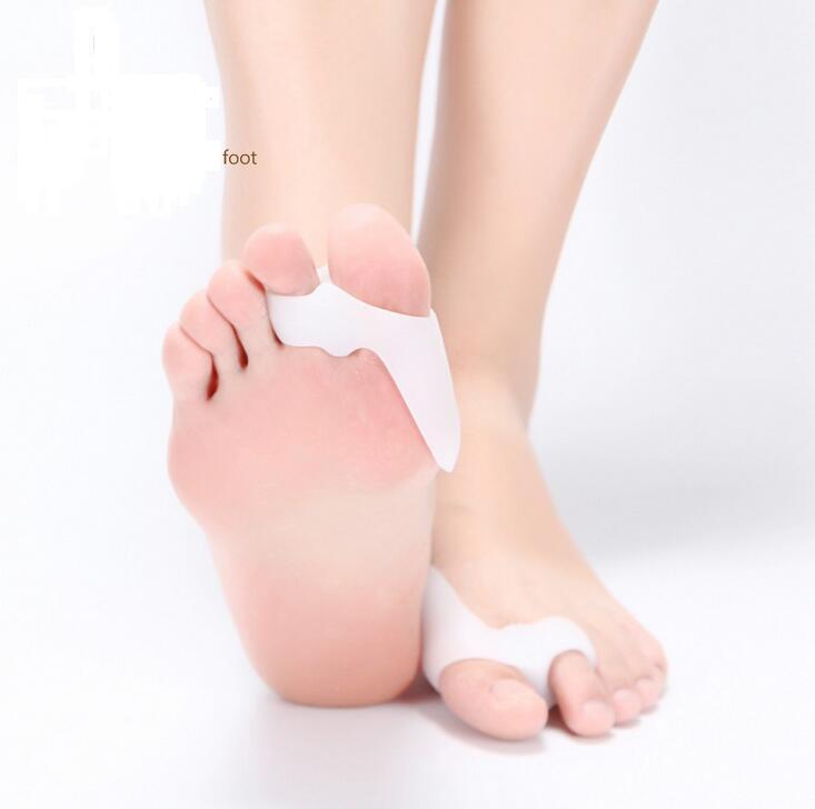 Genuino cura del piede speciale alluce valgo pollice biciclico ortopedico bretelle per valgo correttamente in silicone quotidiano punta grande osso