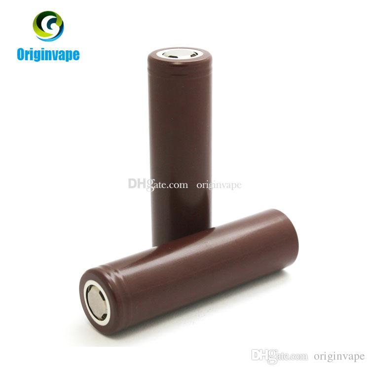 18650 Bateria HG2 3000 mAh 30A MAX Baterias Recarregáveis de Lítio Descarga Para E Cigarro Mod Fedex Frete Grátis