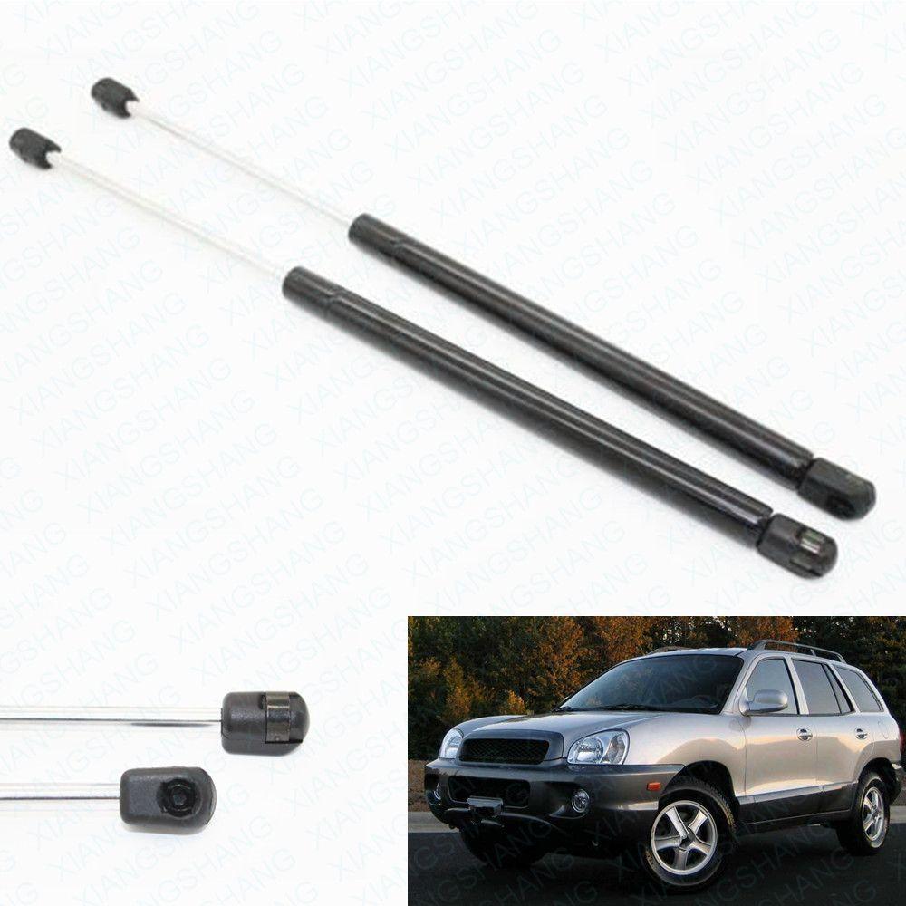 2pcs Auto Lift Support lunotto di vetro molle di gas per Hyundai Santa Fe 2001-2002 2003 2004 2005 2006 LeftRight posteriore