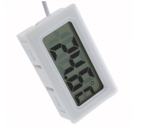 15 PCS Mini aquarium Thermomètre poisson vie Température réfrigérateur mètre Digital LCD Display Sensor