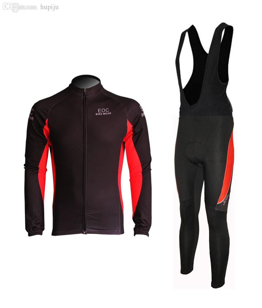Mens Cycling Jerseys Kits Bicycle Wear Long Pants Outdoor Bike Clothing Tights