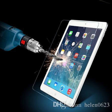 강화한 강화한 유리제 스크린 보호자 필름 상자 iPad 2 3 4 5 공기 iPad Mini 1 2 3 4 4 명확한 정면 필름 소매 상자