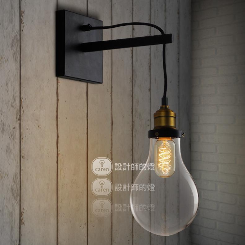 Lmparas de pared dormitorio new llegada vintage bombilla - Luces decorativas ikea ...
