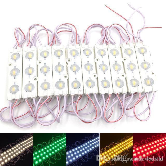 I moduli LED Store Front finestra segno della luce della lampada 3 SMD 5630 Iniezione bianco IP68 impermeabile LED striscia retroilluminazione (10ft = 20pcs)