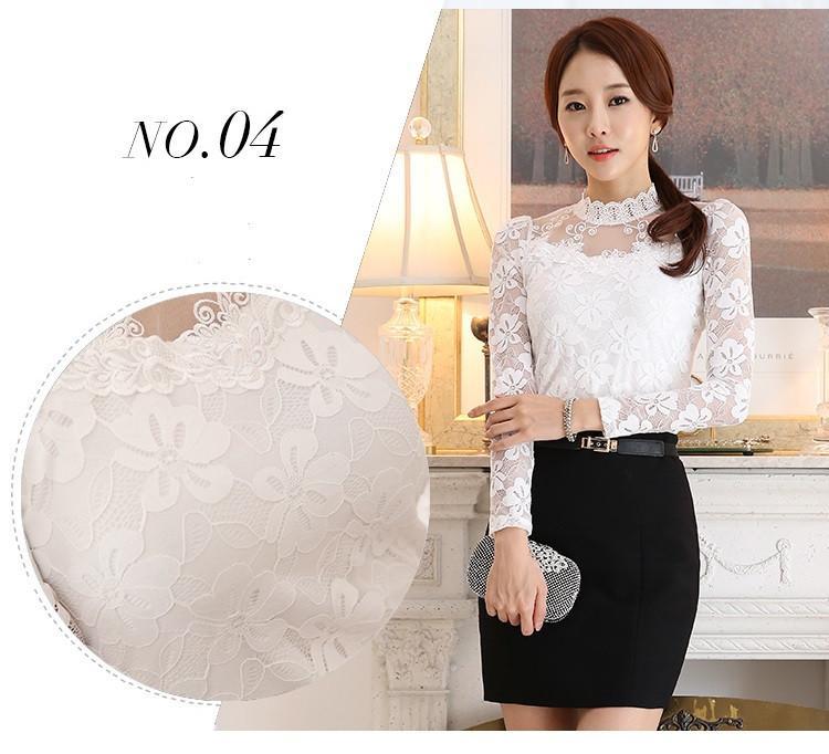 lace blouse 511