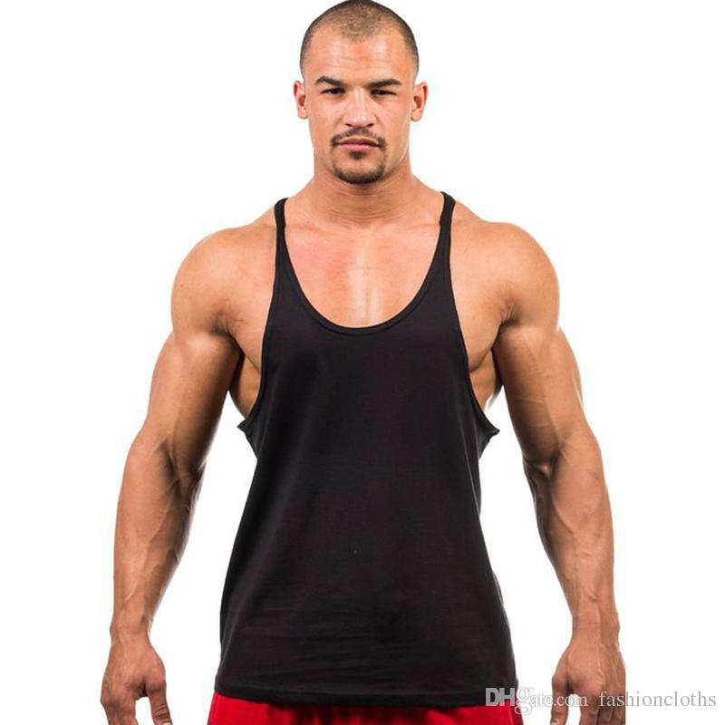 Bodybuilding Brand Tank Top Hombre Stringer sin mangas Fitness Fitness sin mangas camisa Workout Hombre Underwear Clothing659468
