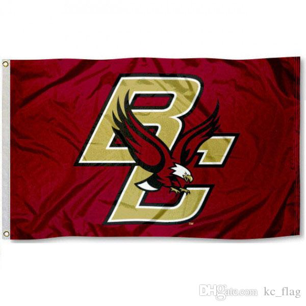 Boston team College logo Drapeau