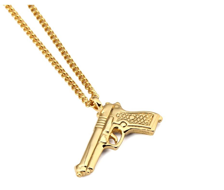 Gun Pendant Necklace_07