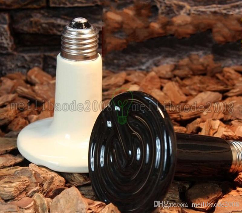 Infrarotkeramik-Wärmelampen-Lampen Infrarot-Birnen-Licht (Reptilien / Haustier / Amphibien / Geflügel) 220V oder 110V 50--250W Kostenloser Versand Myy